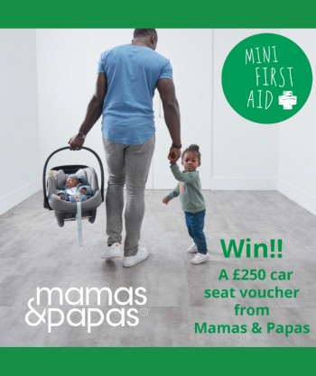 Mamas and Papas Car Seat Voucher Nov 2020